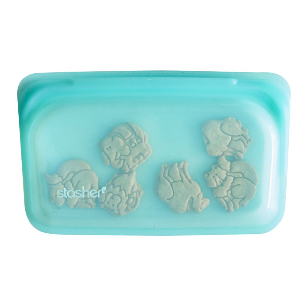 Stasher Snack Bag - Aqua