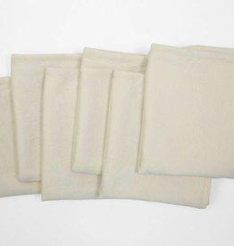 "Coyuchi Organic Cotton Jersey Burp Cloths, 12"" x 16"", S/6  - Undyed"