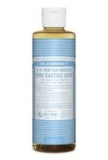 Dr. Bronner's Dr. Bronner's Liquid Castile Soap, Unscented 8 oz.