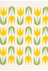 Cose Nuove Yellow Tulips Swedish Dishcloth