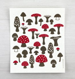 Cose Nuove Mushrooms Swedish Dishcloth