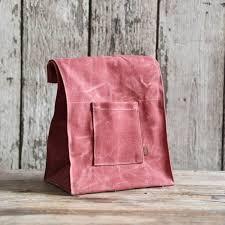 Peg and Awl The Marlowe Lunch Bag - Radish
