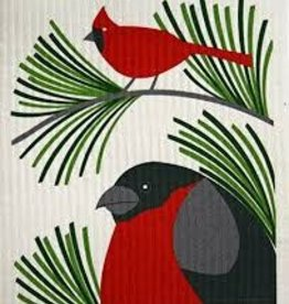 Cose Nuove Cardinal Swedish Dishcloth