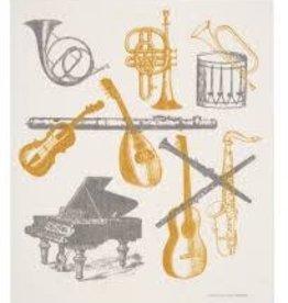 Cose Nuove Musical Instruments Swedish Dishcloth