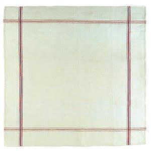 Libeco Belgian Linens Confiture Tea Towel, 33.5 x 33.5 - Red