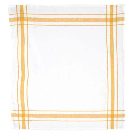 """Libeco Belgian Linens Camaret Tea Towel, 27"""" x 27"""" - Gold"""