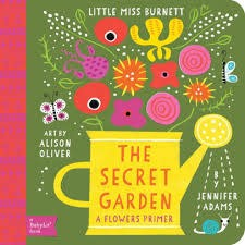 Baby Lit Secret Garden Board Book