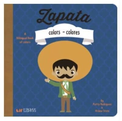 Baby Lit Zapata: Colors - Colores