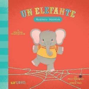 Baby Lit un elefante: numbers - numeros