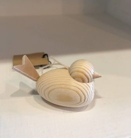 Cose Nuove Natural Wooden Bird