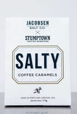 Jacobsen Salt Salty Coffee Caramels Box 6.5 oz