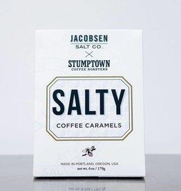 Jacobsen Salt Salty Coffee Caramels Box 6.5 oz