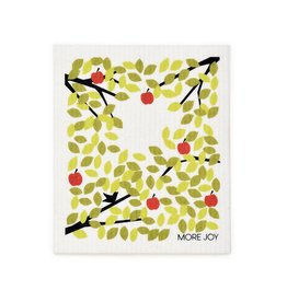 Sweetgum Winter Apple Tree Swedish Dishcloth