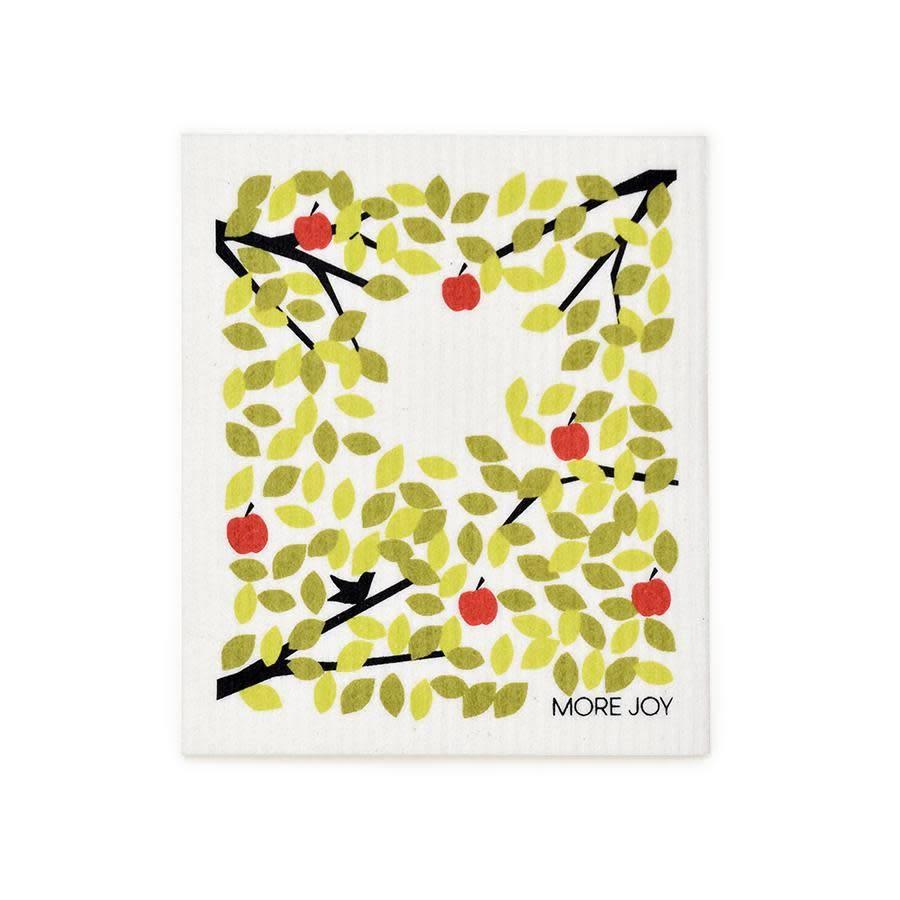 Sweetgum Winter Apple Tree Swedish Dishcloth