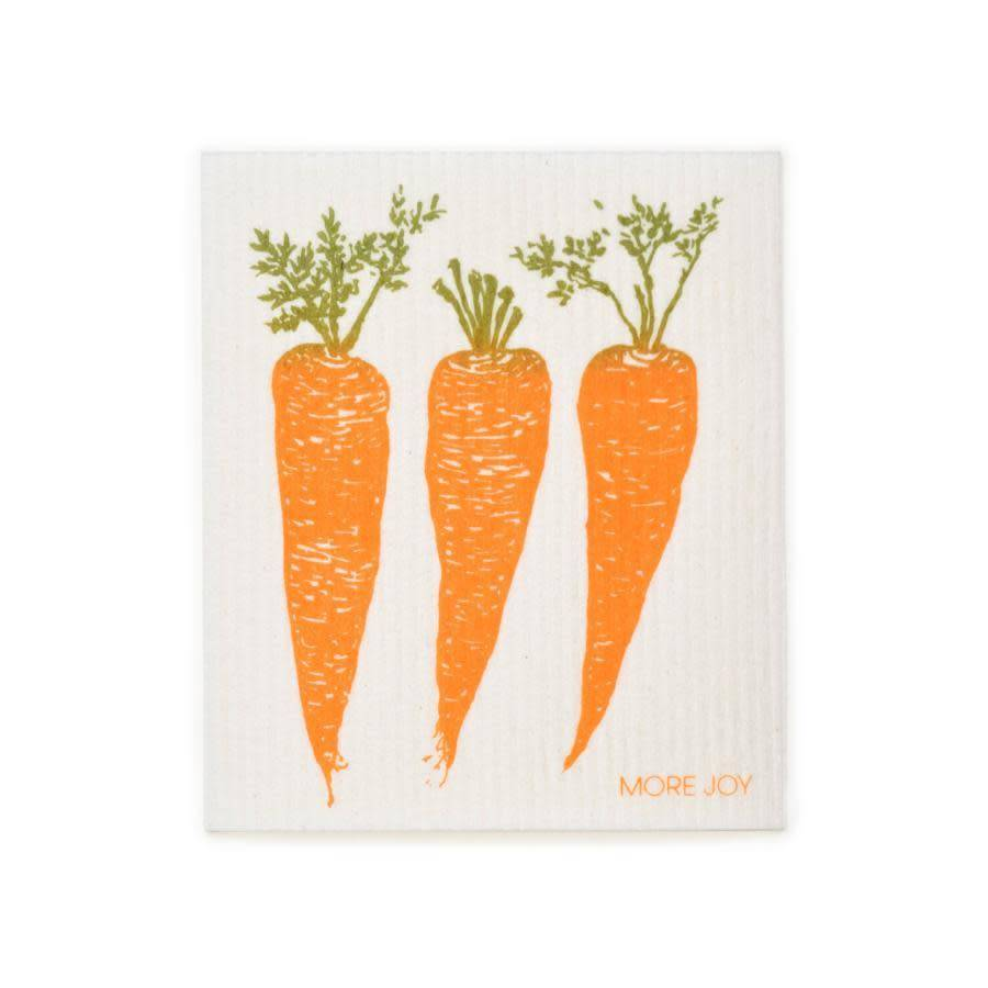 Sweetgum Carrots Swedish Dishcloth