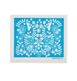 Sweetgum Otomi Swedish Dishcloth