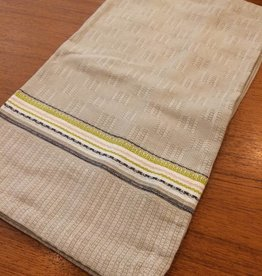 Coyuchi Textured Grid Kitchen Towel, 20 x 30 - Sand