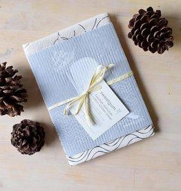 Sweetgum Moby Dick Swedish Dishcloth and Flour Sack Towel Set