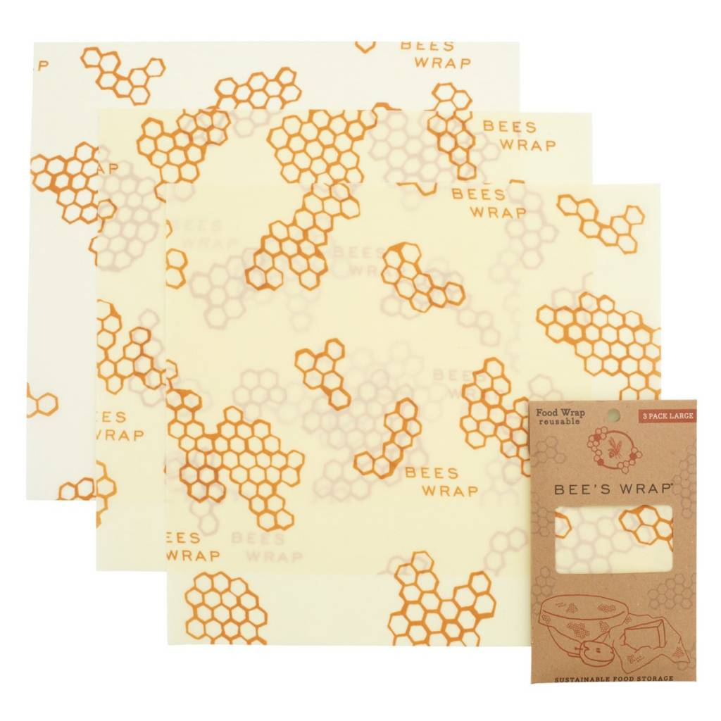 Bee's Wrap Bee's Wrap Single Wrap, 3-Pack - Large