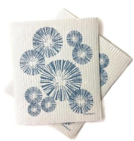 Sweetgum Blue Pinecone Swedish Dishcloth