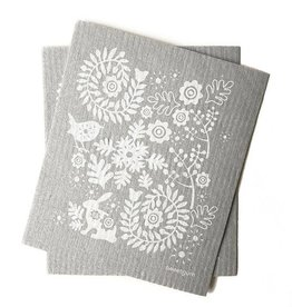Sweetgum Grey Garden Swedish Dishcloth