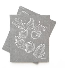 Sweetgum Oyster Swedish Dishcloth