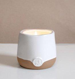 Prana Cleanse Aromatherapy Candle - 4 oz, Mandarin and Grapefruit