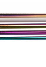 Lastra 3 Drinking Straws - Titanium Coated