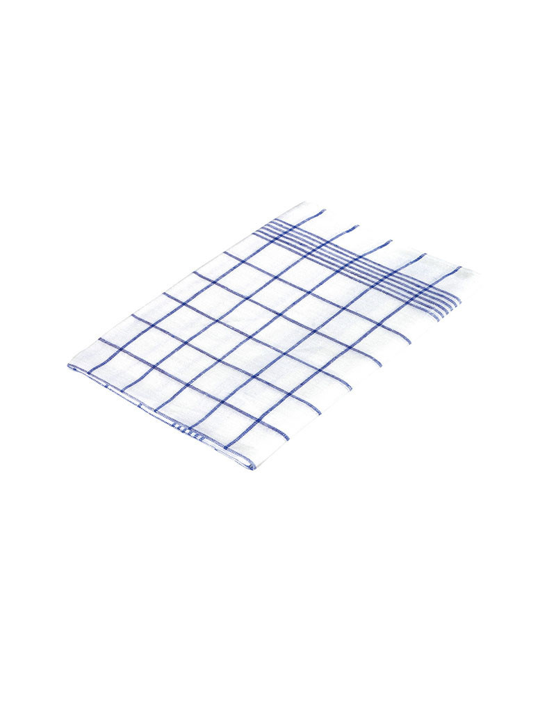 Burstenhaus Redecker Linen Towel - Blue Checked