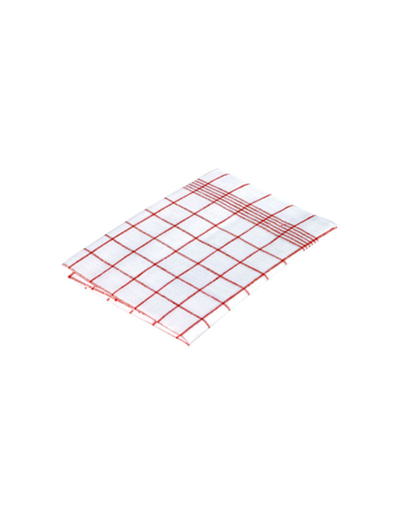Burstenhaus Redecker Linen Towel - Red Checked