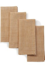 "Sustainable Threads Cotton Napkins 16"" x 16"", Set of 4 - Garam Masala"