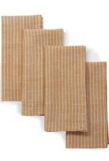 "Sustainable Threads Cotton Napkins 16"" x 16"", Set of 4 - Garam Masala"