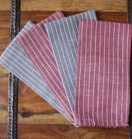 "Sustainable Threads Cotton Napkins, 16"" x 16"" Set of 4 - Nutmeg"