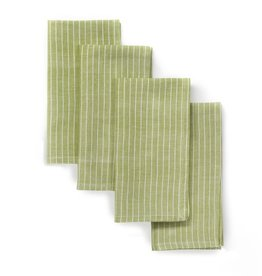 "Sustainable Threads Cotton Napkins, 16"" x 16"" Set of 4 - Pistachio"
