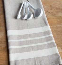 "Sustainable Threads Cotton Hand Woven Kitchen Towel,  27"" x 19"" - Chai"