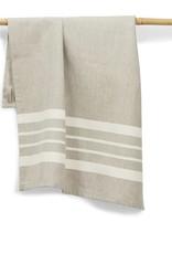 "Sustainable Threads Cotton Hand Woven Kitchen Towel,  27"" x 19"" - Chai"