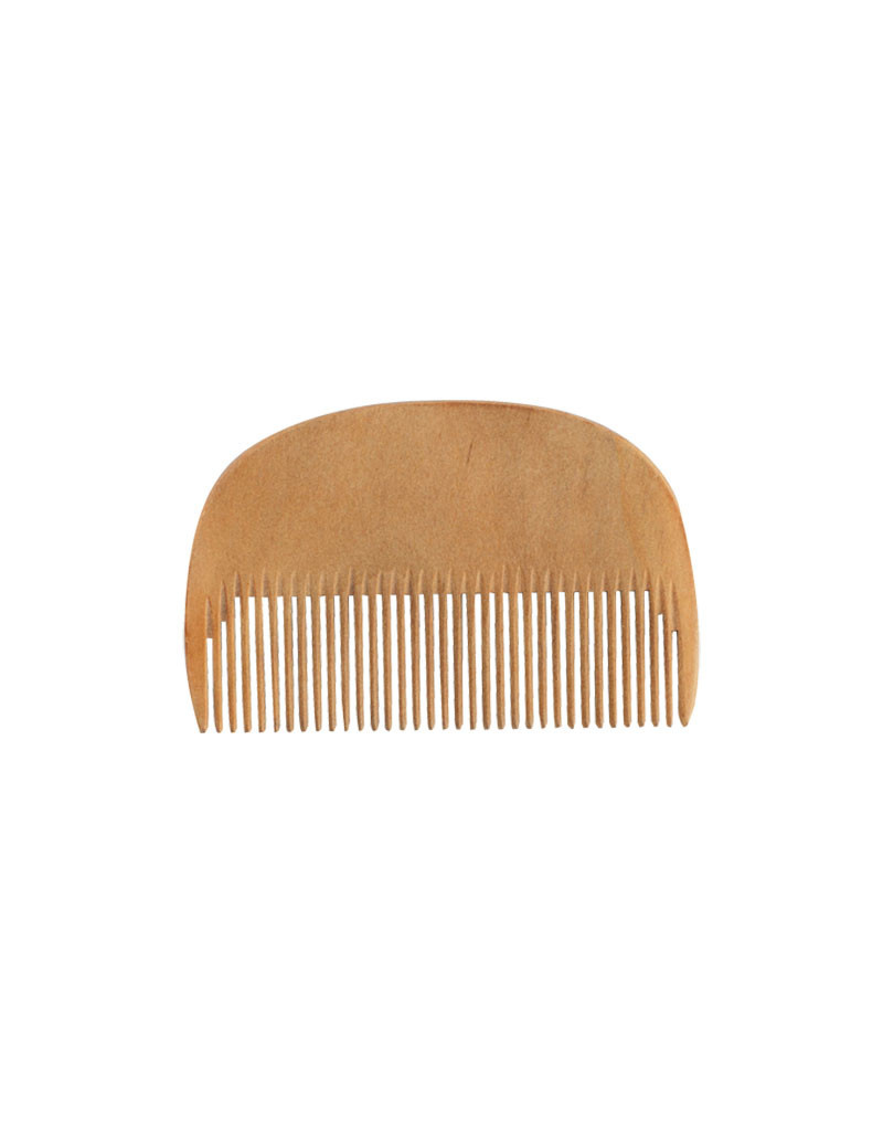 Burstenhaus Redecker Beard Comb, Waxed Pearwood