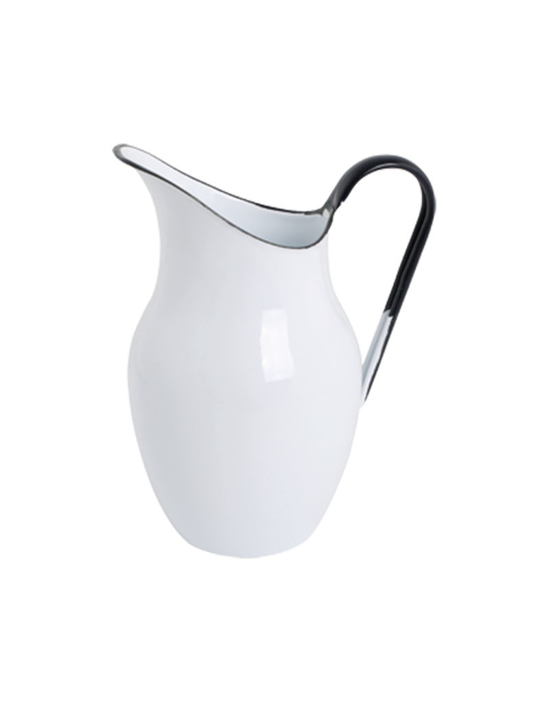 Burstenhaus Redecker Enamel Pitcher