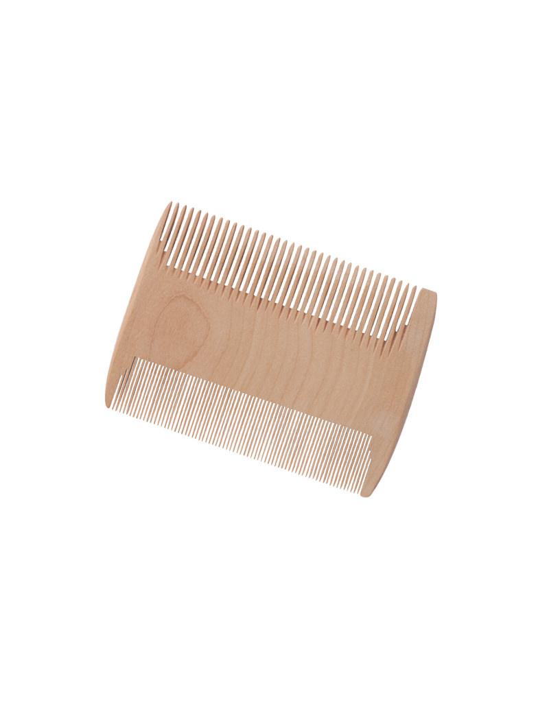 Burstenhaus Redecker Baby Comb / Nit Comb, Checkerwood