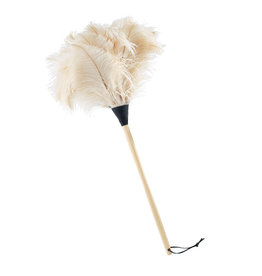 Burstenhaus Redecker Ostrich Feather Duster, White - 70 cm