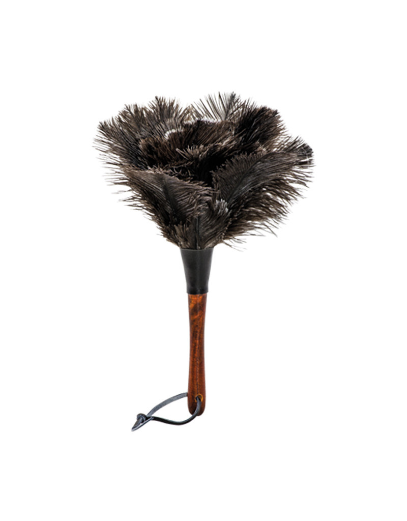 Burstenhaus Redecker Ostrich Feather Duster, Black - Small