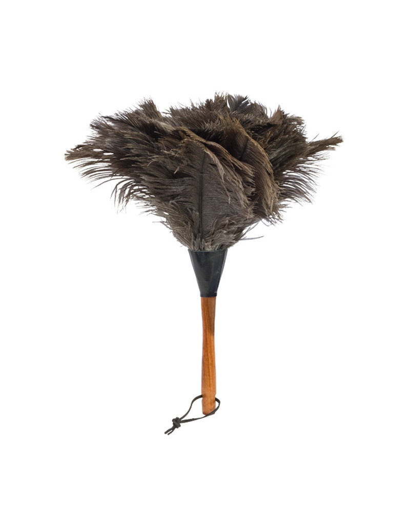 Burstenhaus Redecker Ostrich Feather Duster, Black Medium