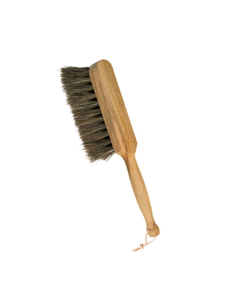 Burstenhaus Redecker Small Hand Brush Oiled Beechwood, Horsehair