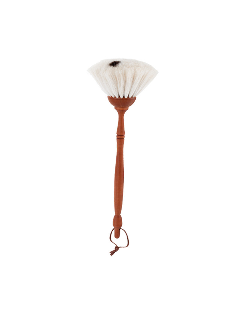 Burstenhaus Redecker Small Duster, Lt. Goat Hair, Pearwood- 34 cm