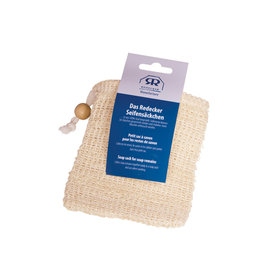 Burstenhaus Redecker Soap Sack, Cotton and Sisal