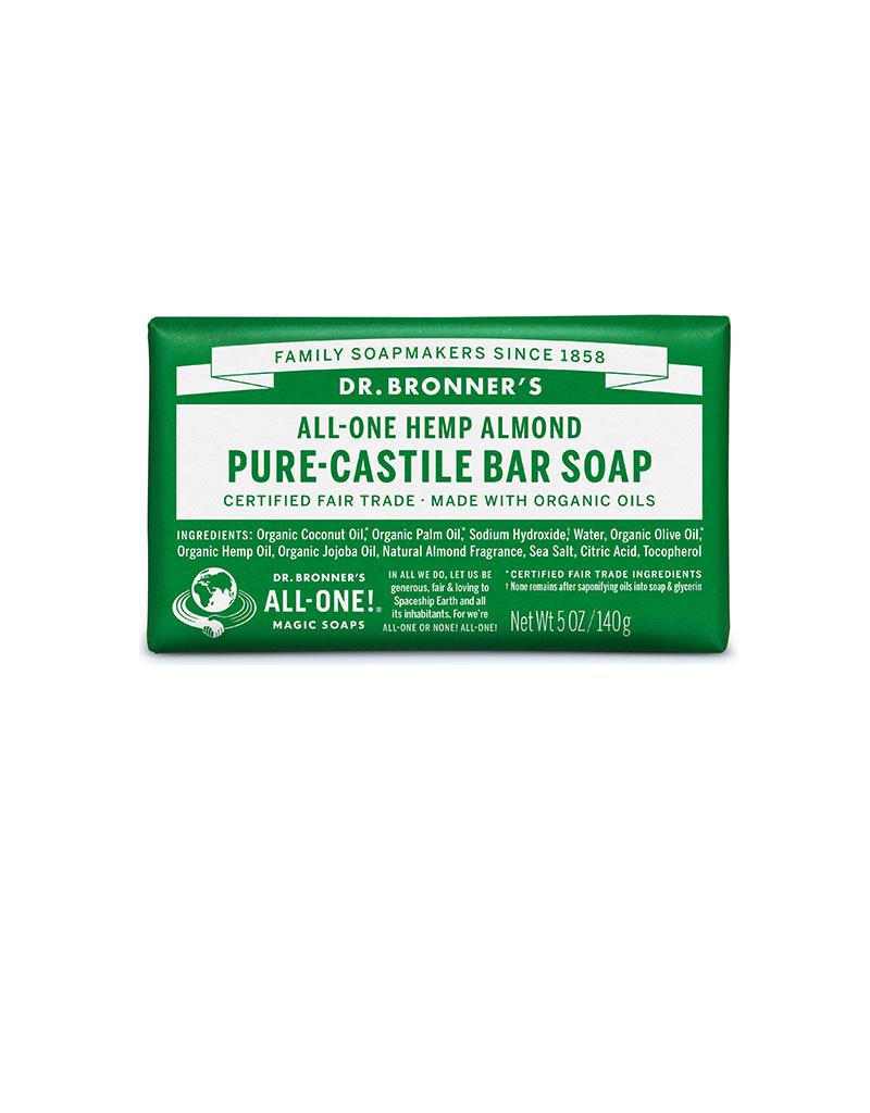 Dr. Bronner's Dr. Bronner's Castile Bar Soap, Almond 5 oz.