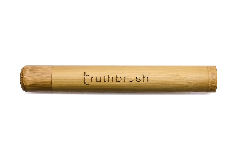 Truth Brush Bamboo Toothbrush Travel Case