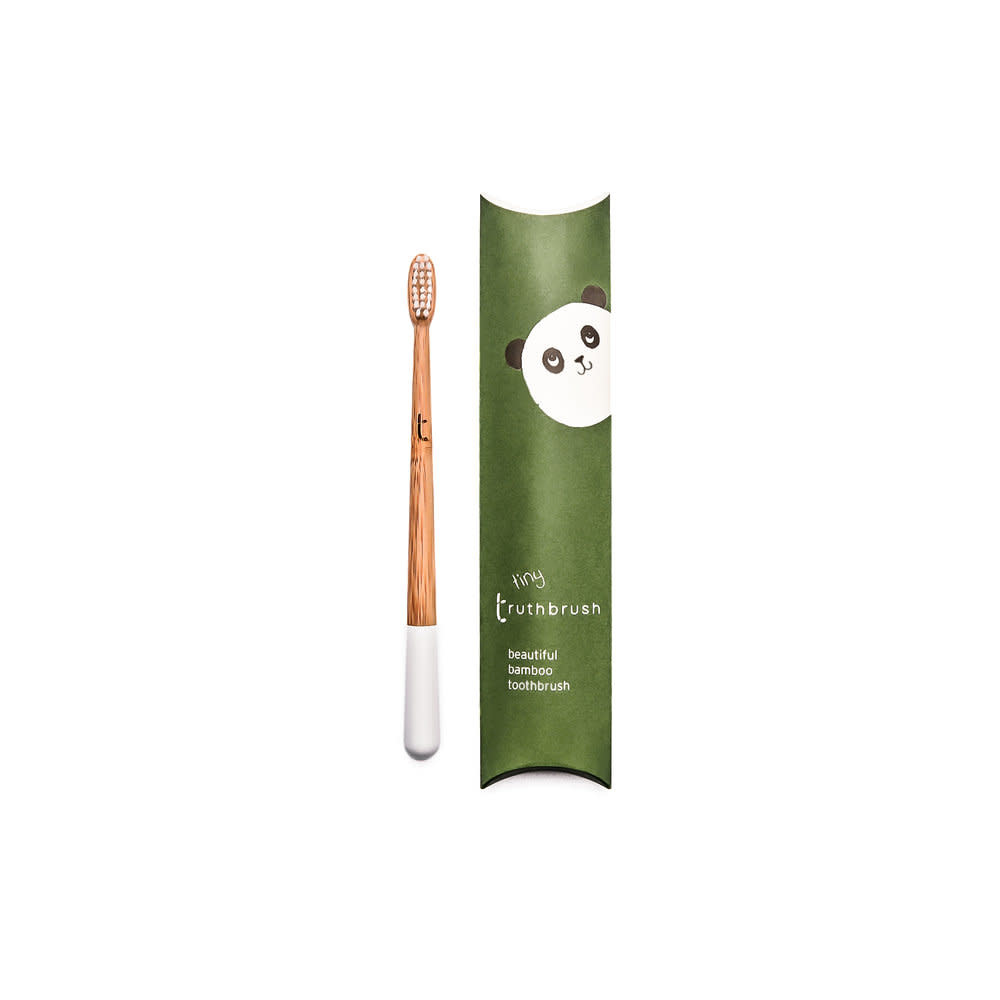 Truth Brush Child's Bamboo Toothbrush, Panda