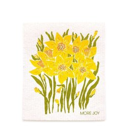 Sweetgum Daffodils Swedish Dishcloth