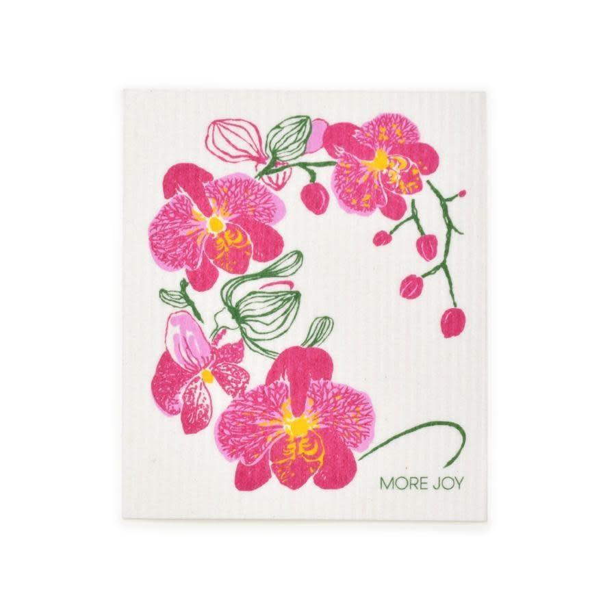 Sweetgum Orchid Swedish Dishcloth